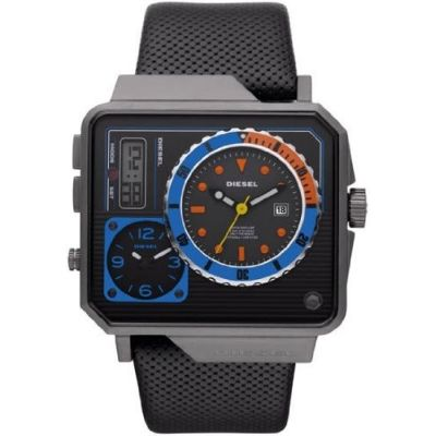 Relogio Diesel Time Zone Analog-Digital Mens Watch DZ7243 visite o site comprausa.com.br