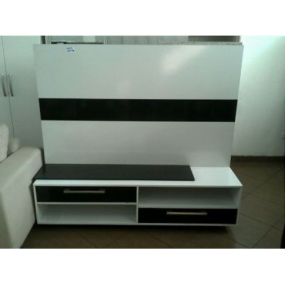 HOME THEATER COM PAINEL BRANCO