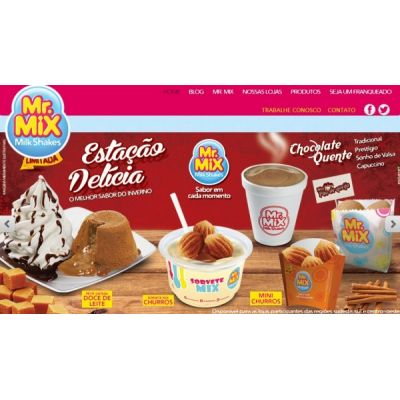 Mr. Mix, Franquia de Sorvetes