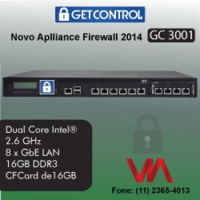 Firewall Appliances GetControl Linha Black 2014