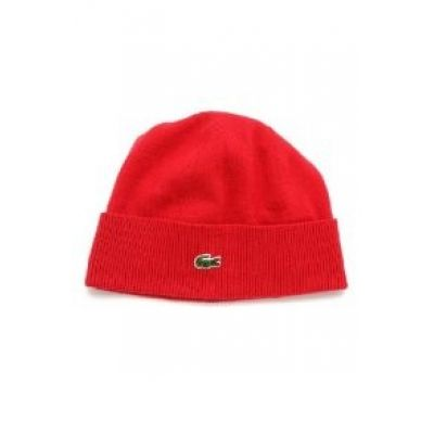 LACOSTE Duplo Mulher Faced Beanie - MADE IN USA