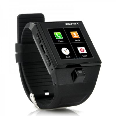 CELULAR RELÓGIO Android 4.0 entregas Watch ZGPAX S5 - 1,54 polegadas Touch Screen Display, Camera,