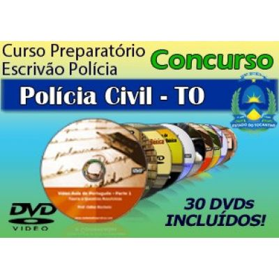 Videoaulas do Concurso Escrivão de Polícia Civil do Tocantins 2014