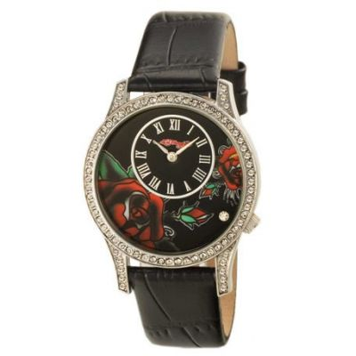 Ed Hardy, Antionette Black Watch.-MADE IN INGLATERRA.