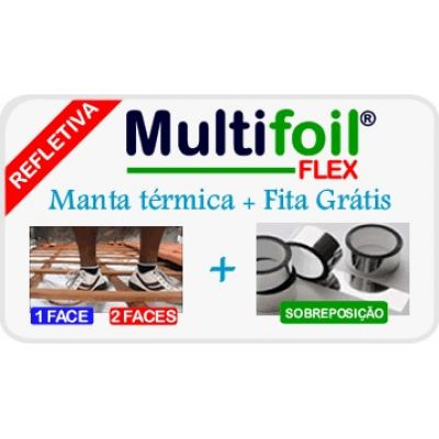 Manta para telhado 2 faces Flex