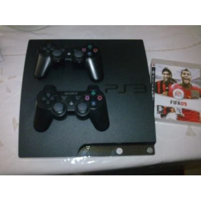 Playstation 3 Slim Hd 120gb + 2 Controles Wireless