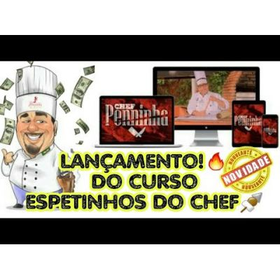 ESPETINHO DO CHEF