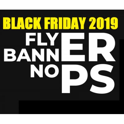 Curso de Criação de Flyer e Banner no Photoshop - Black Friday 2019