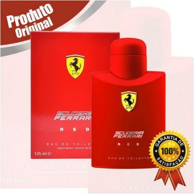 Perfume Ferrari Red 125ml Origirnal - Oferta de Natal 2019