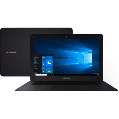 Notebook Multilaser PC122 Intel Atom 2GB Tela 14