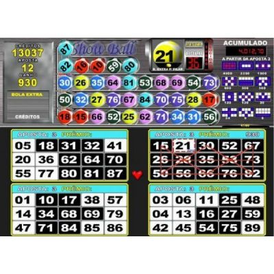 /video Bingo SHOW BALL 3 + NINE BALL + KURTO CIRCUITO