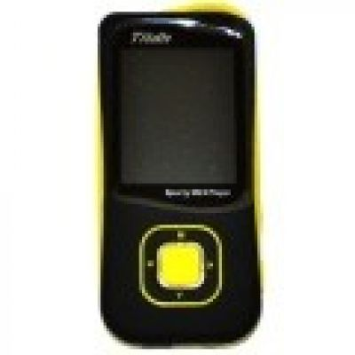MP4 FM 8GB LCD 1.8 PRETO E AMARELO US-638 TITAN