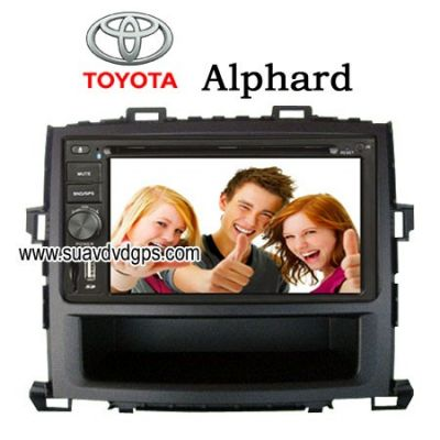 TOYOTA Alphard stereo radio Car DVD player digital TV GPS CAV-62TAD