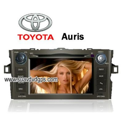 Toyota Auris factory OEM radio Car DVD player TV bluetooth GPS navi FM AM CAV-8070AS